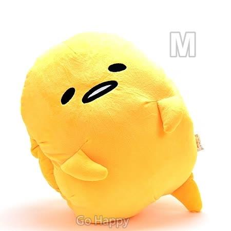SANRIO【很累蛋黃哥】暖暖插手抱枕-M號.
