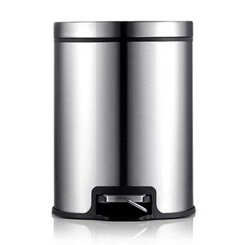 PUSH^! 居家 用品 colourful液壓緩降可固定垃圾袋垃圾桶 置物桶 8升^(L