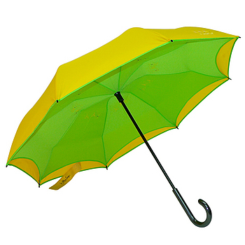 三隻小熊 站立式反向傘-能量黃