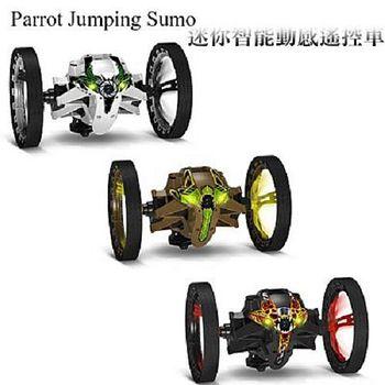 Parrot Jumping Sumo 跳躍動感遙控車 攝影 拍照 競速 跳躍 黑/白