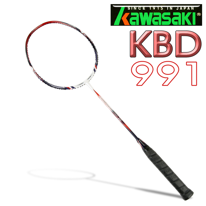 Kawasaki Power&control KBD991 高級碳纖維羽球拍