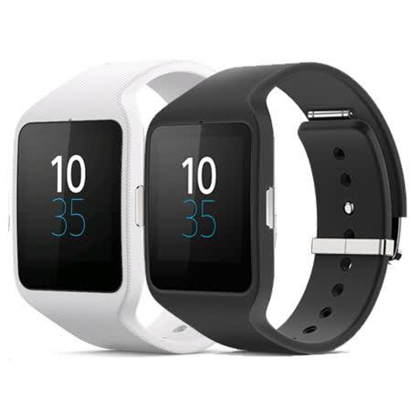 SONY SmartWatch 3 IP68 防水等級智慧手錶 SWR50 -(黑色矽膠錶帶 )