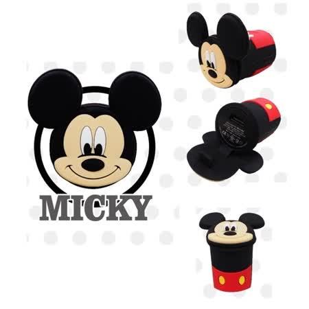 迪士尼 Disney 2A USB 正版授權 手機插頭 USB插頭(米奇)