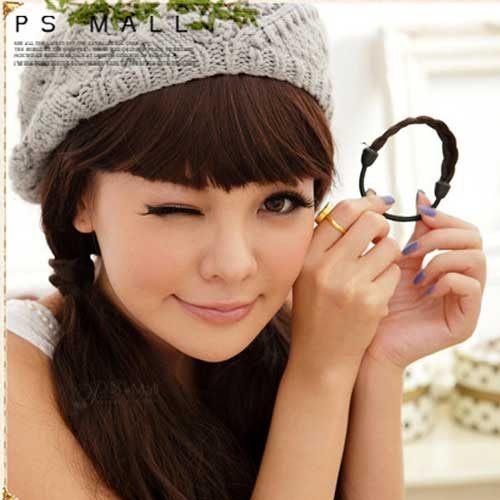【PS Mall】韓國超人氣假髮造型編辮子髮束 (P045)
