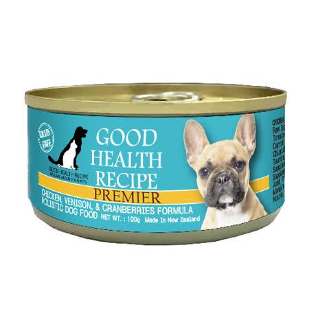 GHR犬用雞肉鹿肉蔓越莓配方主食罐