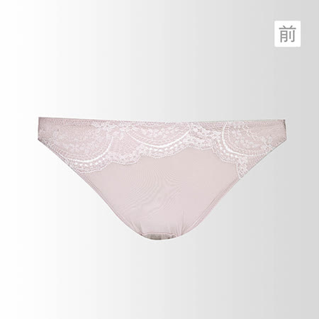 【蕾黛絲】挺素面-輕真水版 M-L低腰褲 (裸膚藕)-品特匯