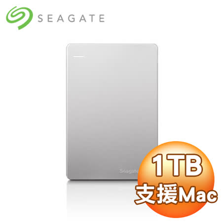 Seagate 希捷 Backup Plus  Mac Slim 1TB 2.5吋 USB3.0 外接式硬碟 (STDS1000300)