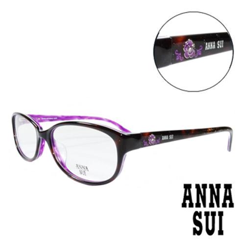 ANNA SUI 薔薇 眼鏡^(琥珀^)AS620~152
