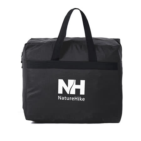PUSH! 戶外休閒用品  露營裝備收納袋旅行包旅行袋提袋衣物包衣物袋45升(L)P83黑色