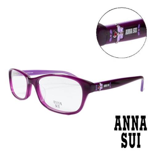 ANNA SUI 翩翩舞蝶 眼鏡^(紫色^)AS621~749