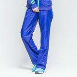 FIVE UP(女)- 跳色中厚風衣長褲-藍紫