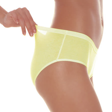 【sloggi】Soft低腰平口小褲 M-EL(黃)-品特匯