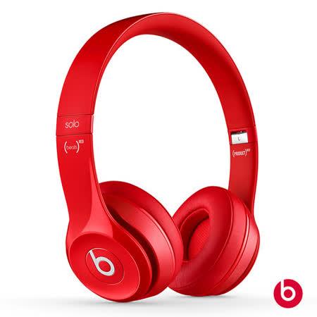 New Beats Solo2 耳罩式耳機-紅