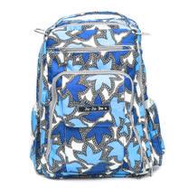 【美國Ju Ju Be媽咪包】BeRightBack手提/後背輕便型媽媽包-Sapphire Lace 湛藍寶石