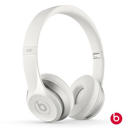 New Beats Solo2 耳罩式耳機-白