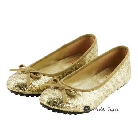 Moda Sense 閃閃亮金蔥系列娃娃鞋-金蔥 M6S8-6091