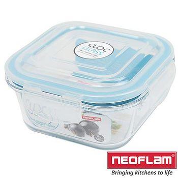 韓國Neoflam 玻璃保鮮盒-正方形 0.52L