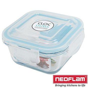韓國Neoflam 玻璃保鮮盒-正方形 0.32L
