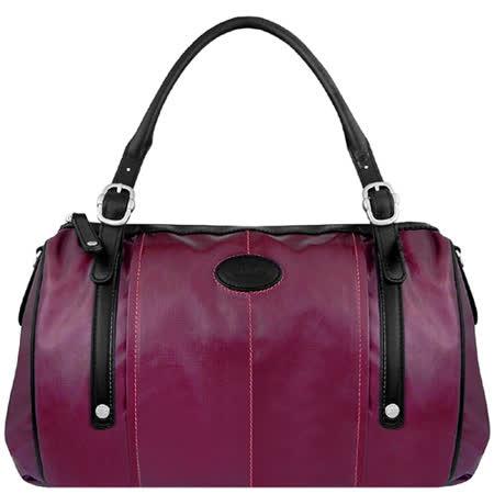 【私心大推】gohappy線上購物TODS 亮面漆皮G-BAG波士頓包-紫羅蘭色【大型】好嗎天母 百貨 公司