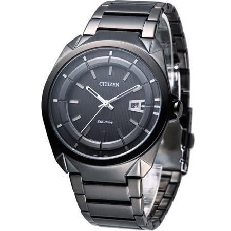 星辰 CITIZEN Eco-Drive 光動能沉穩博雅時尚腕錶 AW1015-53E
