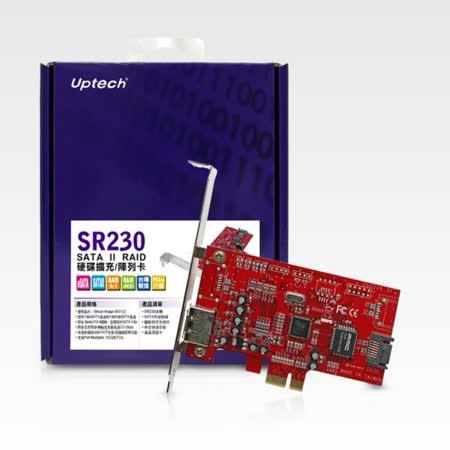 登昌恆 Uptech SR230 SATA II RAID 硬碟擴充/陣列卡