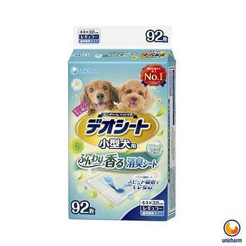 Unicharm消臭大師 日本 小型犬狗尿墊-森林香 M92 X 1包