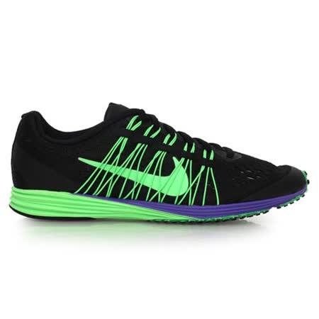 (男女) NIKE LUNARSPIDER R 6 馬拉松鞋 - 路跑 慢跑 黑螢光綠