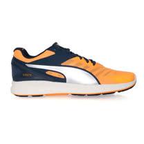 (男) PUMA IGNITE V2 慢跑鞋- 路跑 健身 訓練 丈青橘