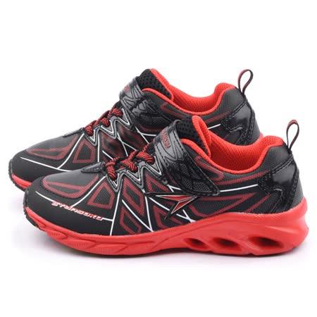 Achilles瞬足 大童 輕量機能運動鞋ESJJ1451-黑