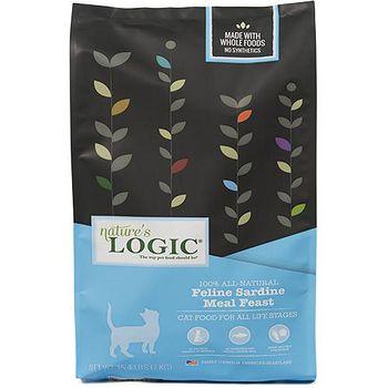 Natures Logic自然邏輯 低敏天然糧 全貓沙丁魚配方 3.3磅 X 1包