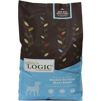 Natures Logic自然邏輯 低敏天然糧 全犬沙丁魚配方 4.4磅 X 1包