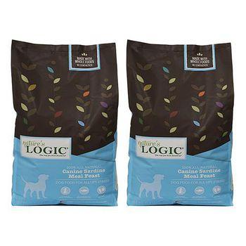 Natures Logic自然邏輯 低敏天然糧 全犬沙丁魚配方 4.4磅 X 2包