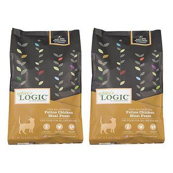 Natures Logic自然邏輯 低敏天然糧 全貓雞肉配方 7.7磅 X 2包