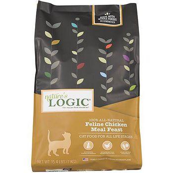 Natures Logic自然邏輯 低敏天然糧 全貓雞肉配方 15.4磅 X 1包