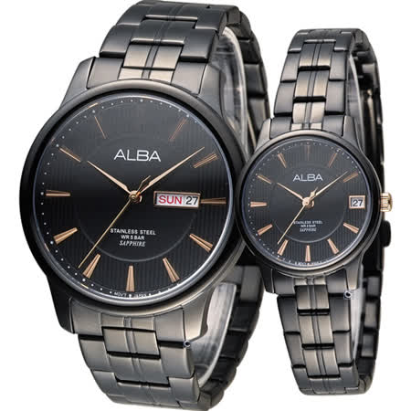ALBA 雅柏 日系經典時尚對錶 VJ43-X029K VJ32-X260K