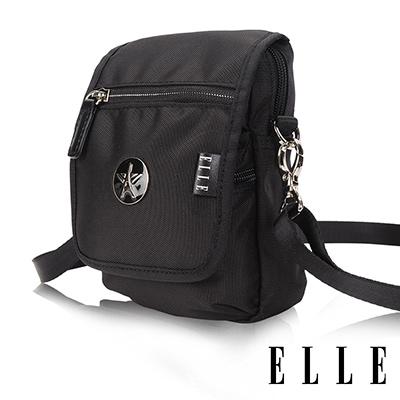 ELLE 法式優雅時尚 收納包/側背包/手機包-黑EL83473-02