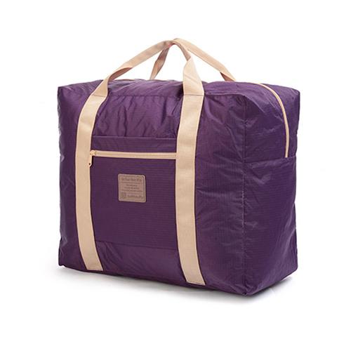 PUSH! 戶外休閒用品可折疊便攜式 旅行包 萬用旅行袋 提袋 收納袋35升(新 北市 板橋 區 中山 路 一段 152 號L)P88-1紫色