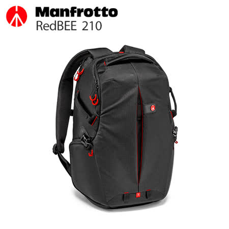 Manfrotto 曼富圖 RedBee-210 Backpack 旗艦級大紅蜂後開雙肩背包