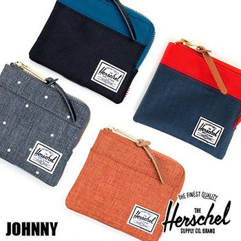 HERSCHEL Johnny Wallet 拉鍊錢包 -多色