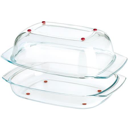 《TESCOMA》玻璃烤盤2件組(42cm)