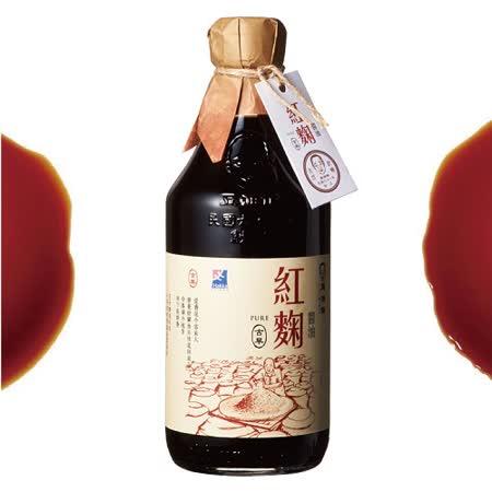 【豆油伯】竹田驛客紅麴醬油500ml★六堆釀出品