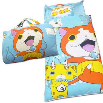 Babytiger虎兒寶 卡通造型幼教兒童睡袋 妖怪手錶-吉胖喵