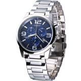 星辰 CITIZEN OXY系列競速三眼計時腕錶 AN7050-56L