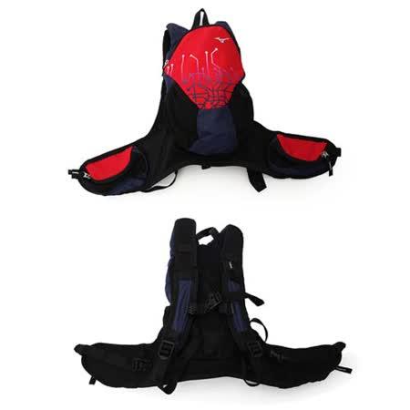 MIZUNO 背包 -雙肩包 旅行包 後背包 登山 美津濃 紅丈青 F
