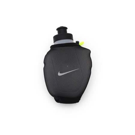 NIKE 跑步手拿水壺6OZ -慢跑 路跑 運動 黑螢光綠 F