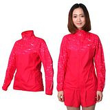(女) PUMA 款NIGHTCAT立領風衣外套 - 運動 慢跑 路跑 防風 桃紅銀