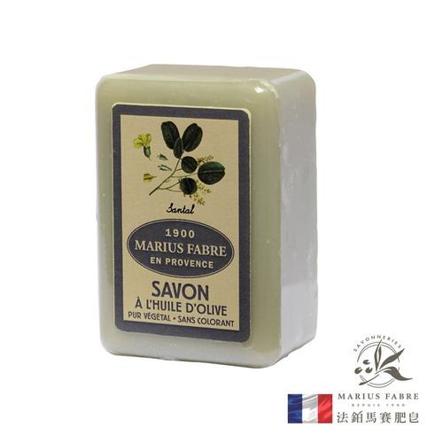 法國【MARIUS FABRE】法鉑天然草本檀香橄欖皂250G