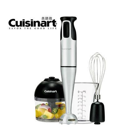 美國Cuisinart 全方位手持攪拌器 CSB-77TW 送清淨海環保廚房清潔劑(檸檬飄香)480m