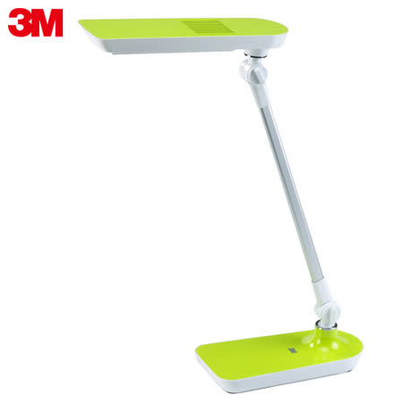 【3M】58度LED可調光博視燈桌燈檯燈LD6000(果凍綠)