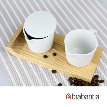 【Brabantia】咖啡調味罐組(灰)
